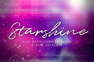 Starshine Galaxy Textures & Overlays