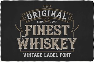 Finest Whiskey Font