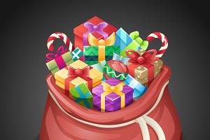 Santa Gifts Bag