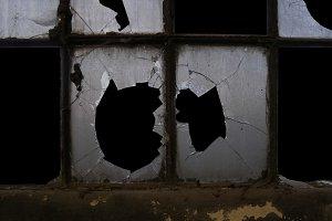 old industrial window