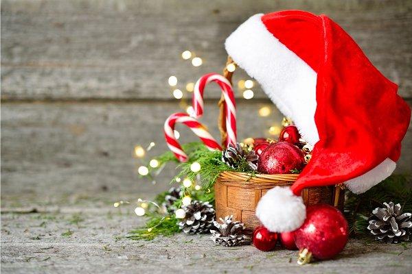 Holiday Shiny Christmas Composition…