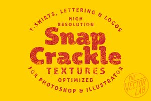 Snap Crackle Textures