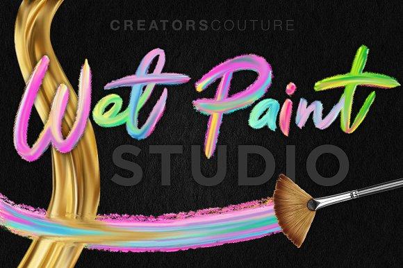 Wet Paint Photoshop Brush Studio