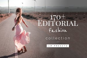 170+ Editorial Fashion - Lr Presets