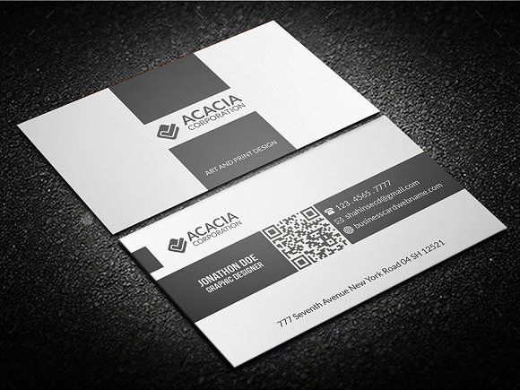 Multitype Business Card-Graphicriver中文最全的素材分享平台