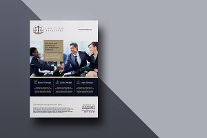US Letter/ A4 Size Business Brochure