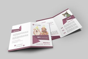 Pet Shop Bi-Fold Brochure