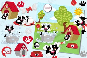 A Dogs Life 2, Clipart AMB-595