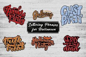 Lettering for Halloween