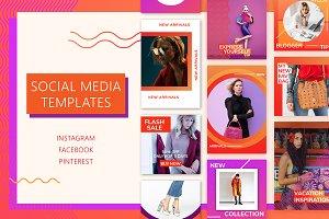 Bright Social Media Kit