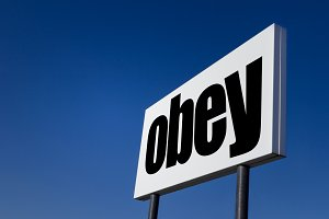 The order to OBEY
