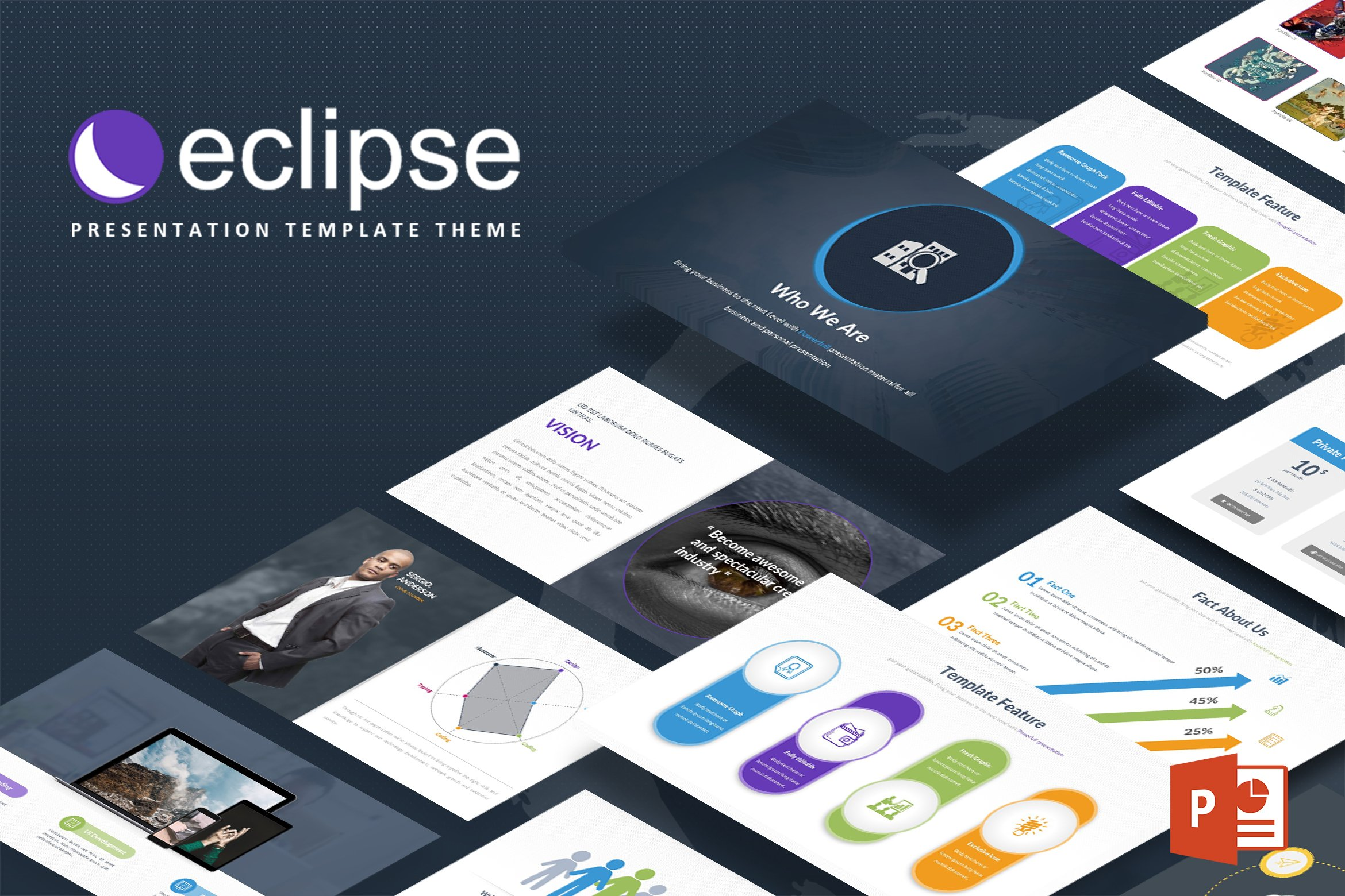 eclipse html template - eclipse powerpoint template presentation templates
