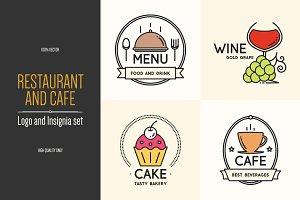 Food and drink logo design