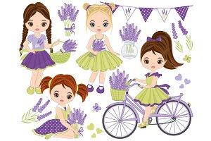 Vector Lavender Clipart