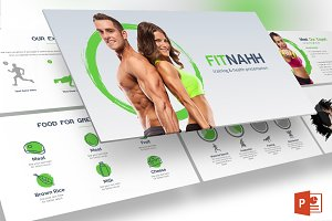 Fitnahh - Powerpoint Template
