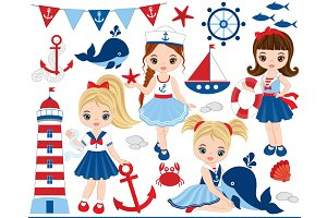 Vector Nautical Clipart