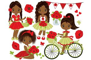 Vector Poppies Clipart