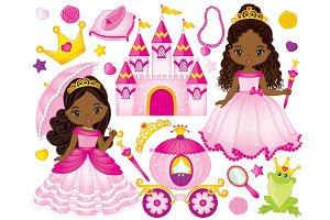 Vector Princess Clipart