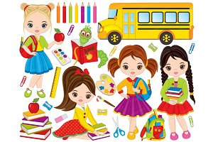 Vector School Clipart