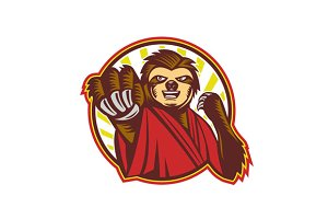 Sloth Fighter Self Defense Circle