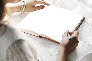 Notebook Portrait (PNG)