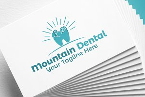 Mountain Dental | Logo Template