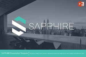 Sapphire - Powerpoint Template