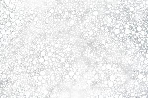 Bubbles abstract white background