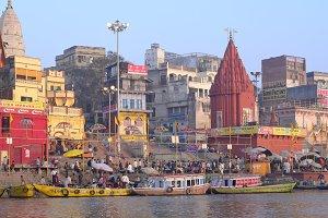 Dasashwamedh ghat in Varanasi