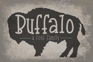 Buffalo- Font Family