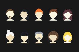 human avatar icon