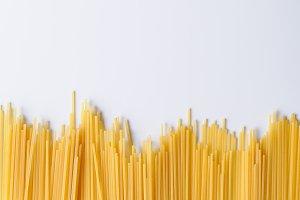 Underside spaghetti top view