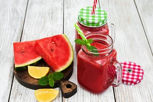Watermelon smoothie