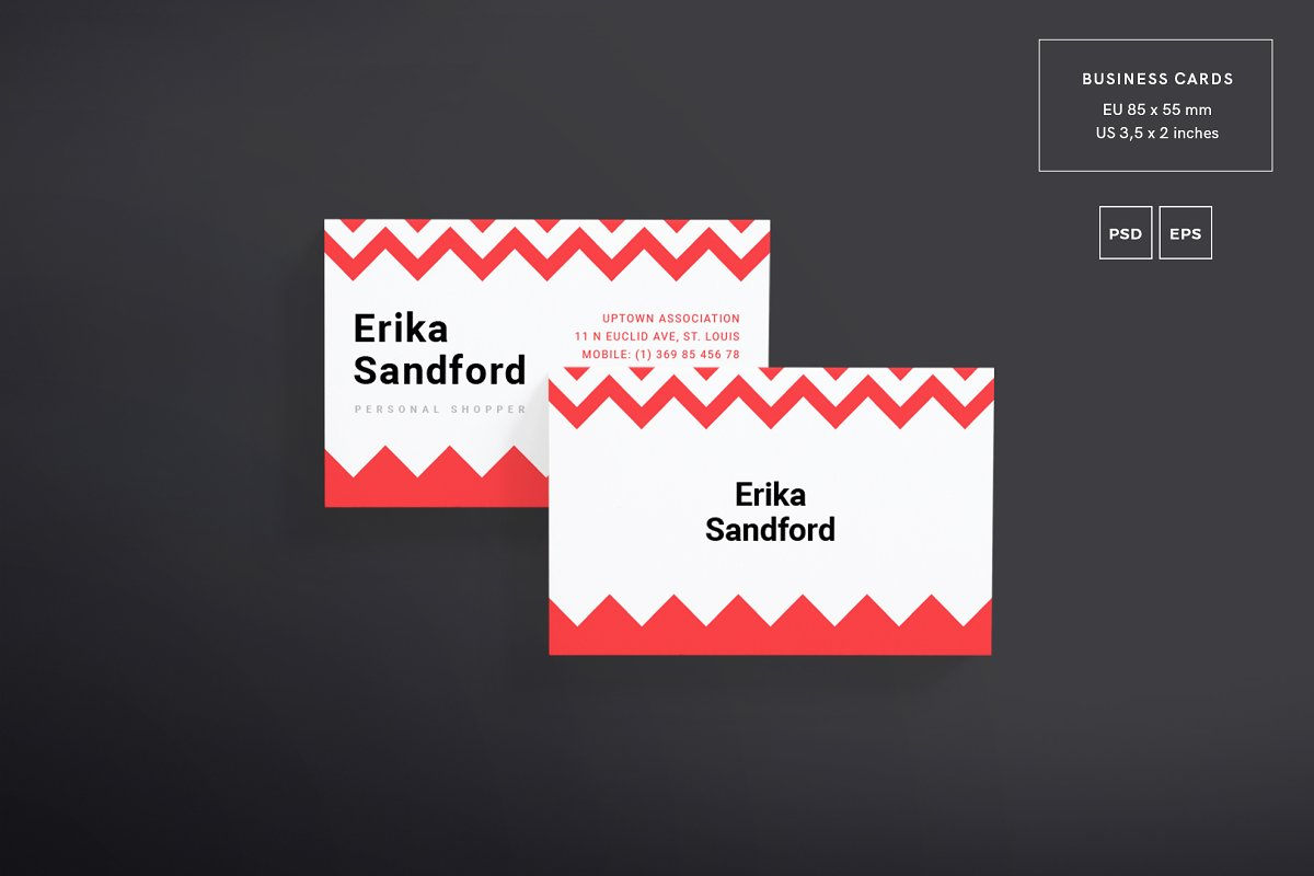 Business Cards | Fashion & Style in Business Card Templates