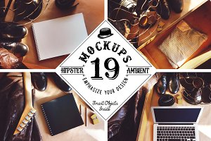 19 Mockups (Hipster Ambient)