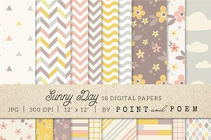 Patterns Digital Paper Pack