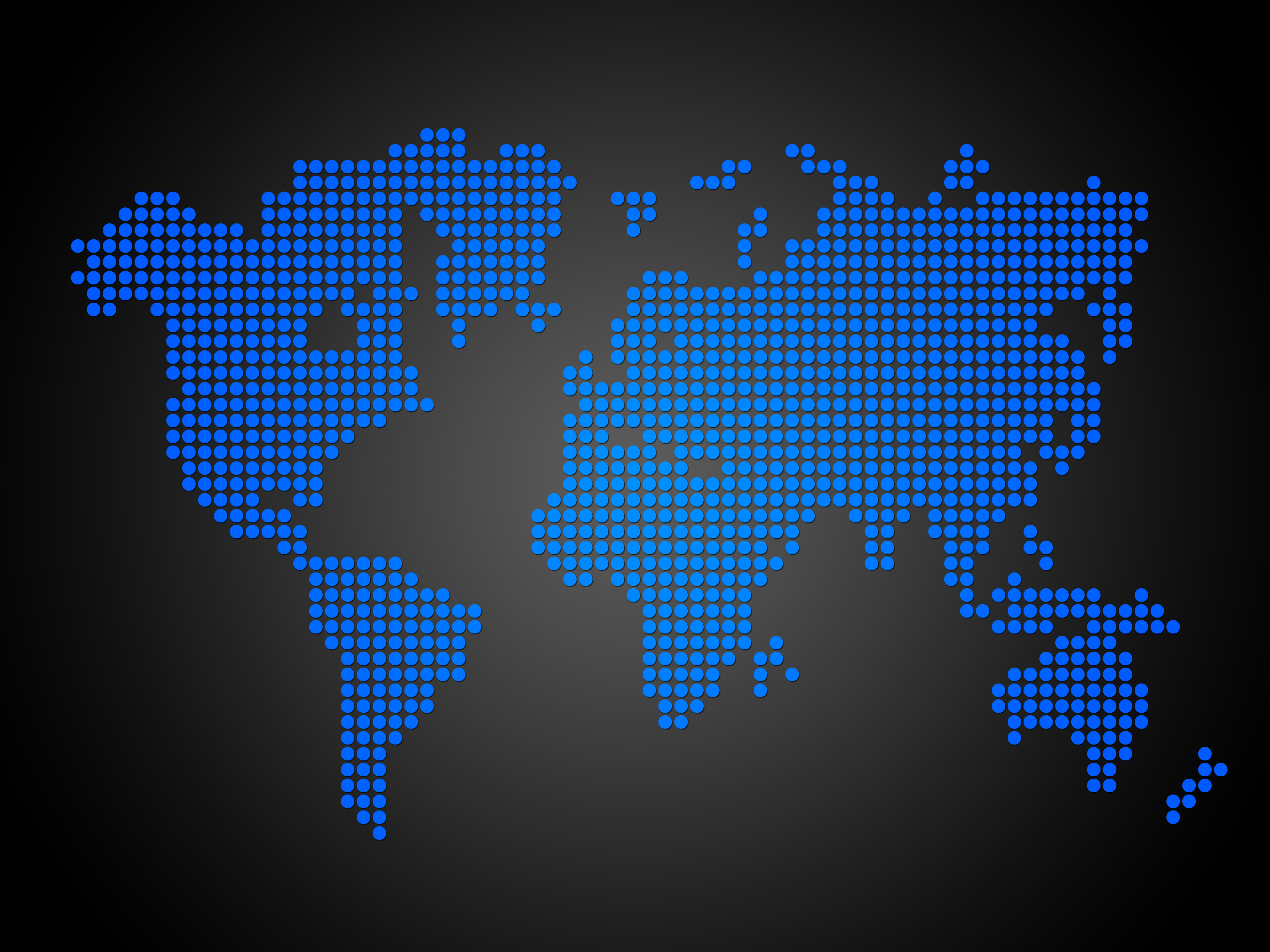 Dotted world map with continents illustrations creative market dotted world map blue gumiabroncs Images