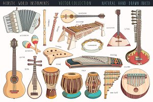 World Musical Instruments Pack