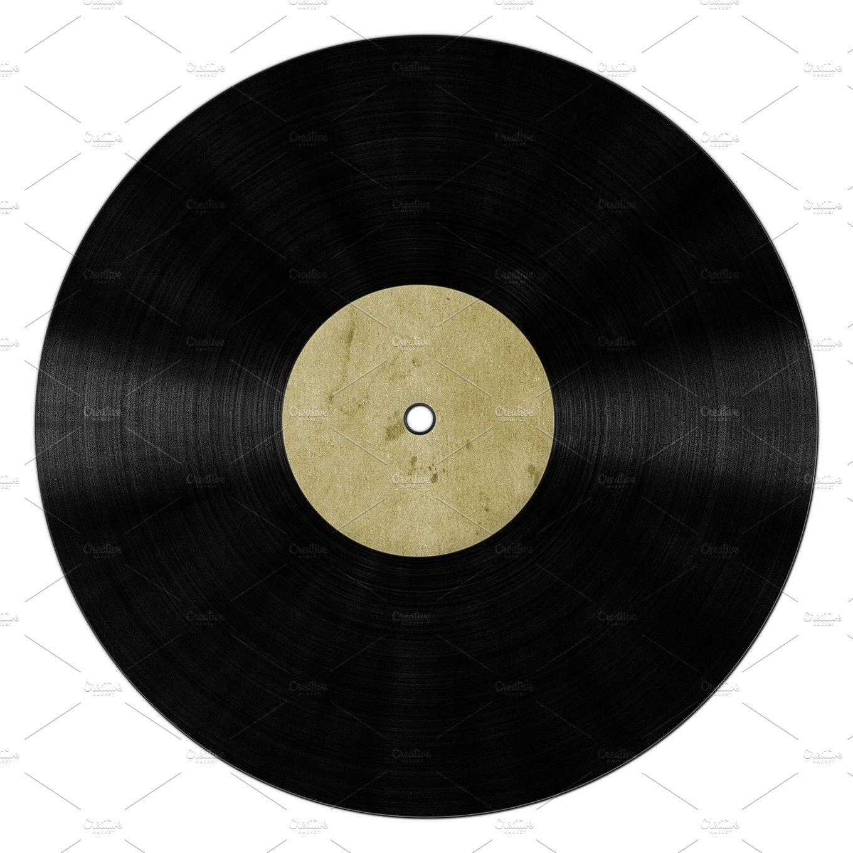 Vinyl Record Blank Product Mockups Creative Market