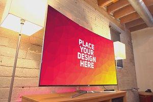 Curved TV Mock-up #5