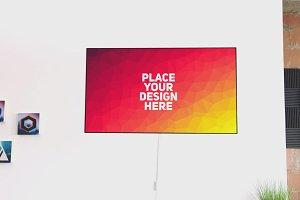 TV Display Mock-up #57