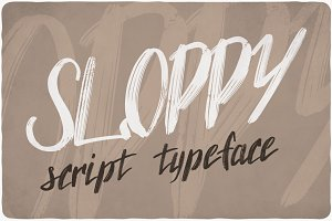 Sloppy Handcrafted Font