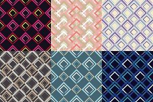 Seamless pattern. Brushwork.
