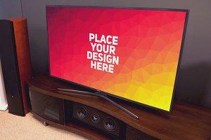 TV Display Mock-up #61