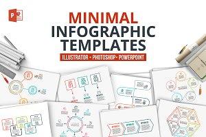 Minimal infographic PPT presentation