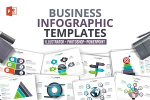 Business powerpoint infographics