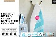 Ironing Board Cover Generator Mockup