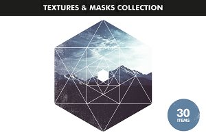 Textures & Image Masks Collection