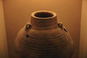 Ancient Clay Pot