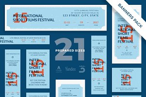 Banners Pack | Film Festival